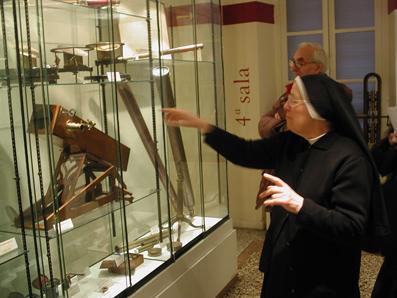 Strumenti scientifici nel Museo