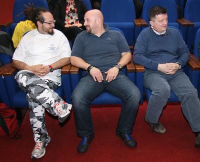 3 stellati: Marcello Trentino, Claudio Santin, Giovanni Grasso